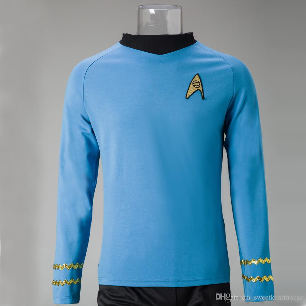 Star Trek Costume  The Original Series Cosplay Spock Sciences Halloween Cosplay Costumes Cat Halloween Costume Scary Halloween Costume From Sweetkaarihouse ... & Star Trek Costume : The Original Series Cosplay Spock Sciences ...
