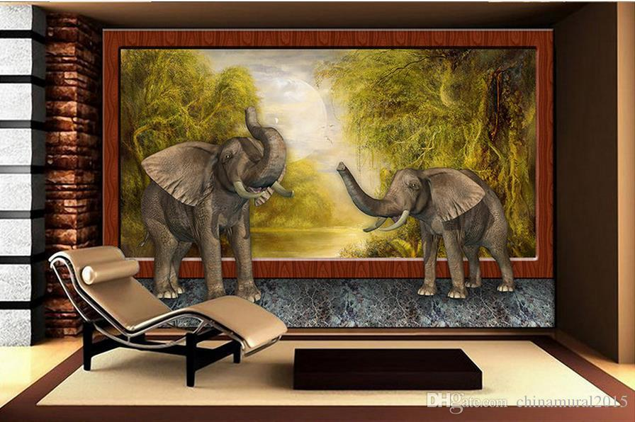 wallpaper for walls 3 d for living room 3D European painting Roman column background wall wall roll