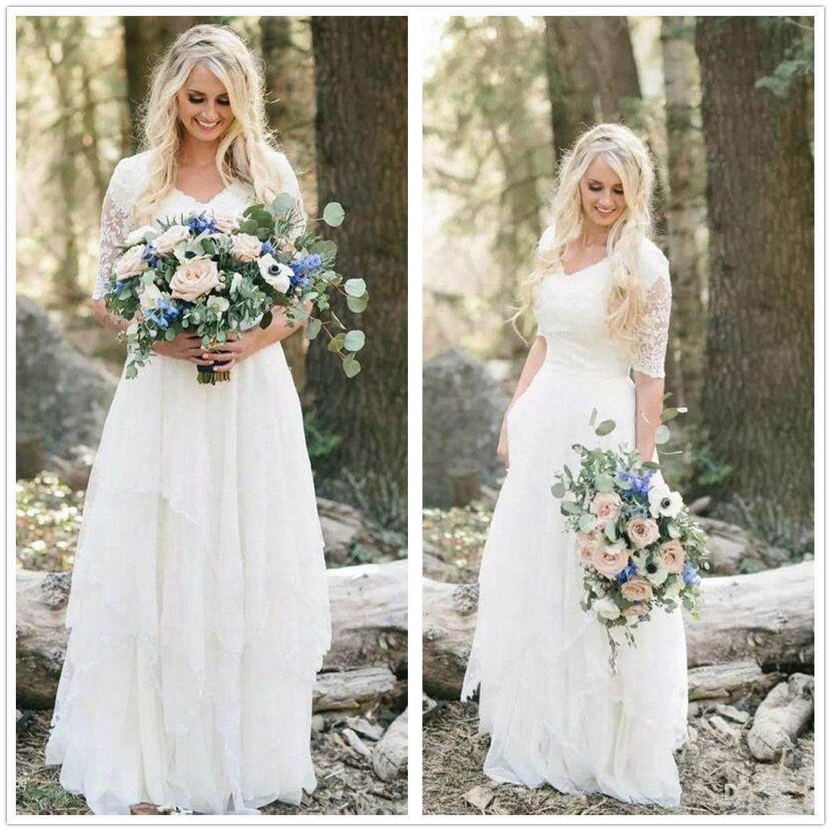 Exelent Outdoor Country Wedding Dresses Motif - The Wedding Ideas ...