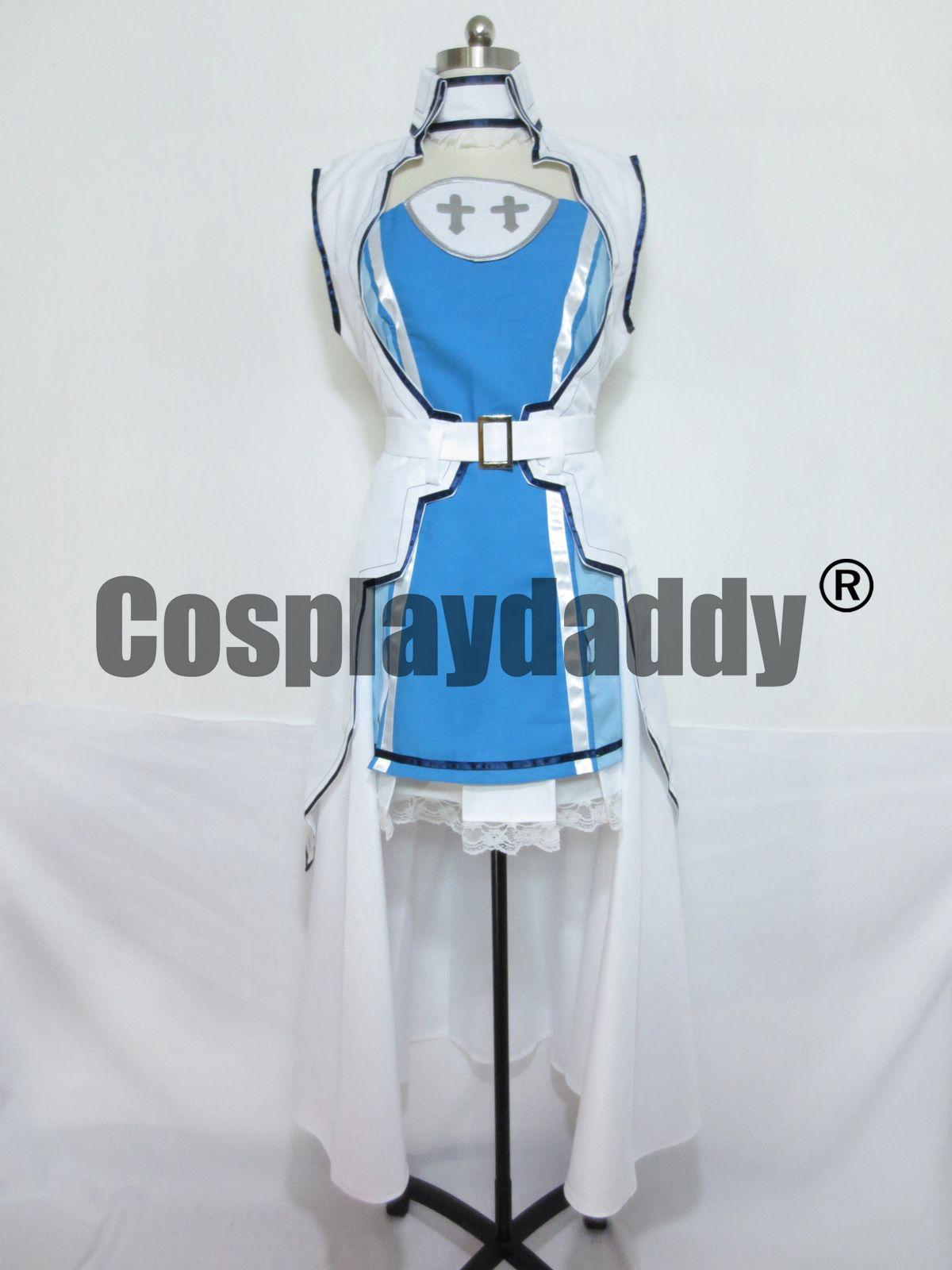 Espada arte on-line asuna cosplay traje s001