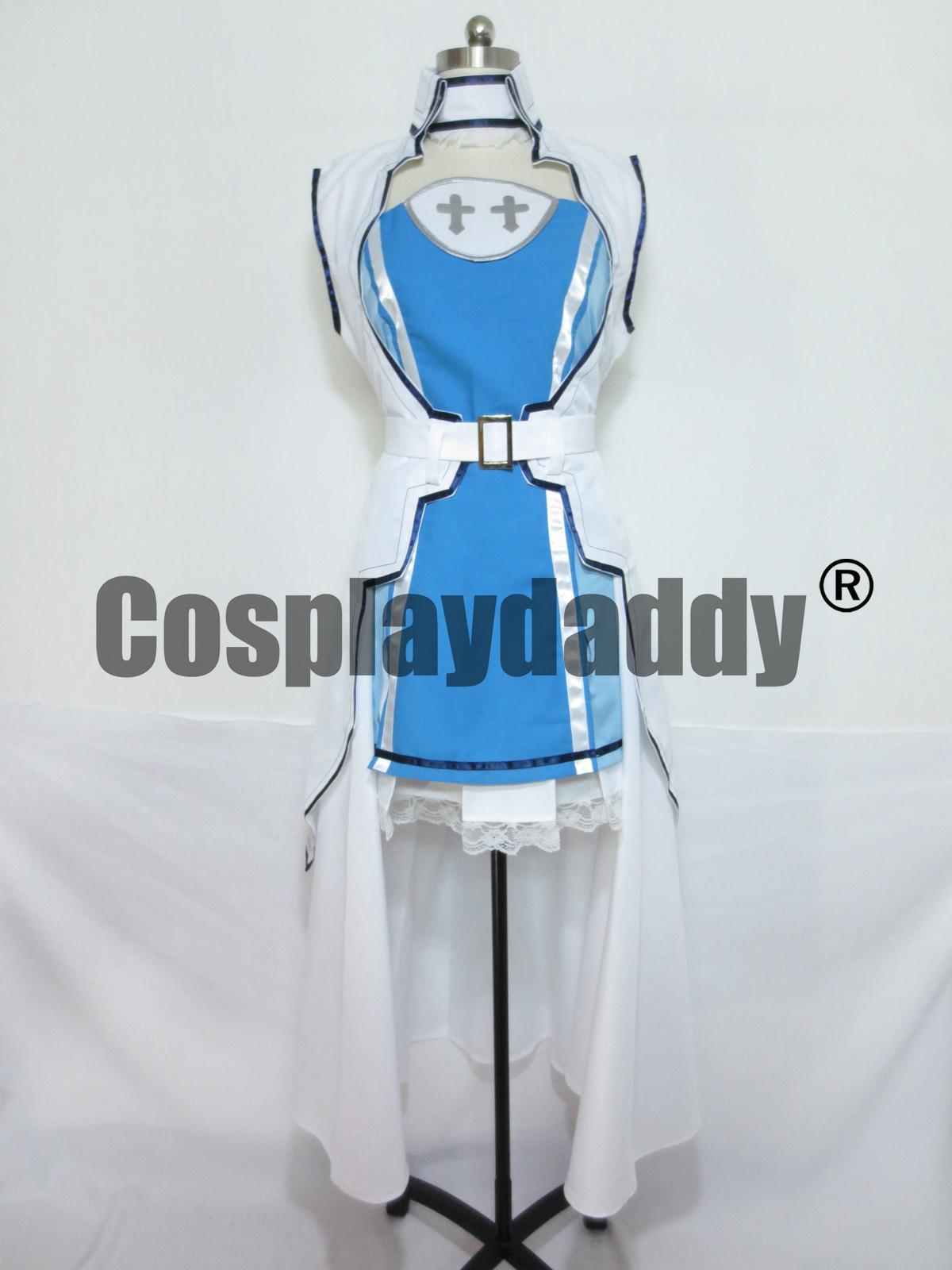 Sword Art Online Costume Asuna Cosplay S001