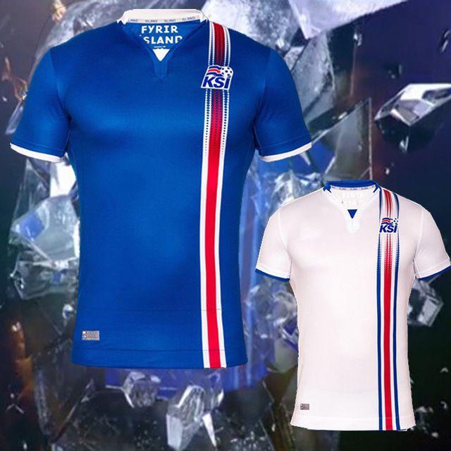 Whosales Discount Iceland 2016 2017 Soccer Jerseys d144016f4