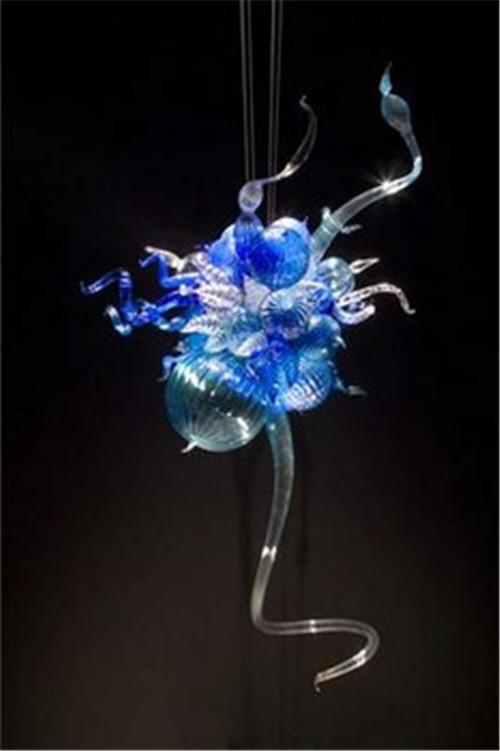 Alta calidad hermoso coloreado elegante Crysatal barato Mini araña, iluminación de cristal de Murano de lujo para dormitorio decorativo, lámpara de techo lindo