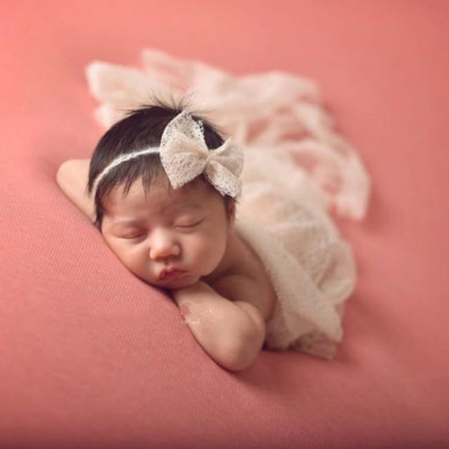 newborn Crochet photography Photo Props Stretch Baby Wraps Baby Girls Crochet Knit Costume Photo anket v
