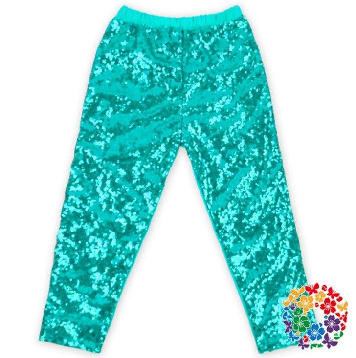Girls Leggings kids gold sequins pants Autumn New children Bottoms girls princess pants baby girls trouser top quality