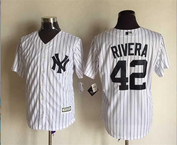 e596fe845 ... Mens New York Yankees 42 Mariano Rivera Gray White Official Cool Base  Player Baseball Jersey Cheap Womens Mariano Rivera Authentic ...