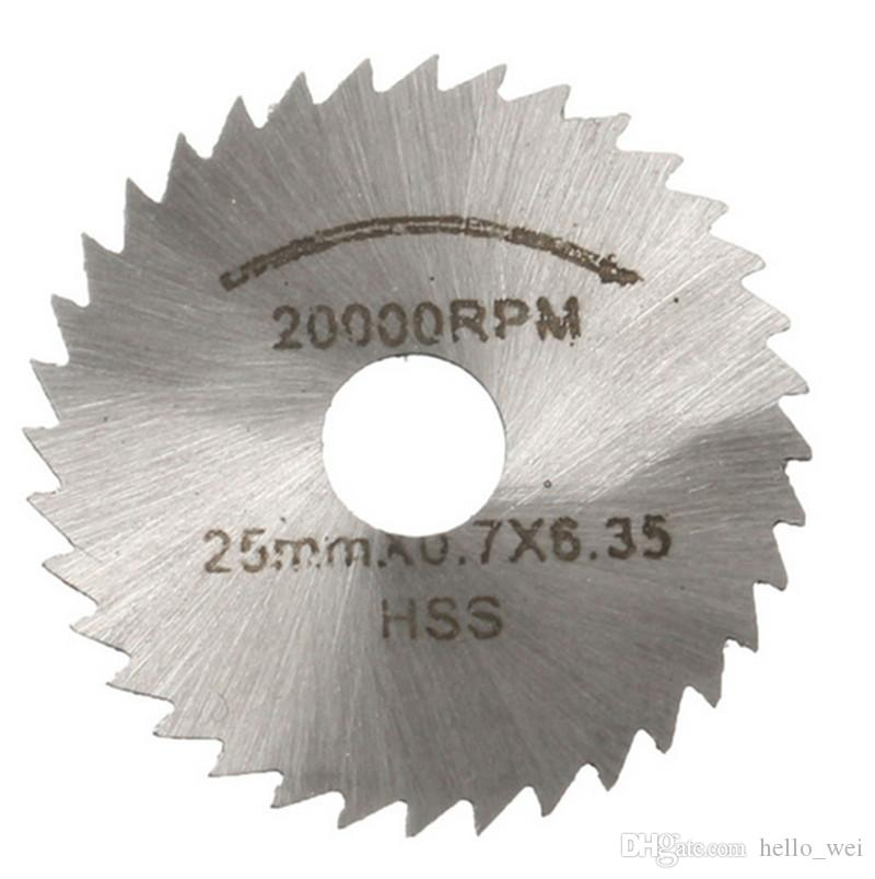 Mini HSS Rotary Tool Circular Saw Blades For Dremel Metal Rotary Cutter Power Tool Set Cutting Diamond Discs Mandrel