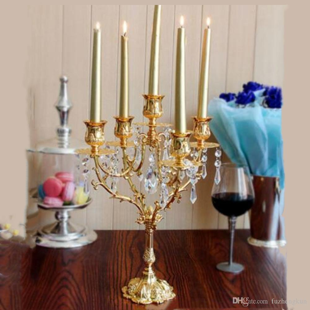 40 Cm Height European Style Candelabra Romantic Candlelight Dinner