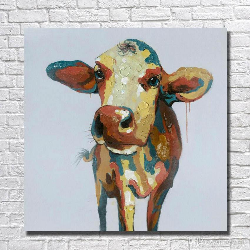 designer home goods. 2018 Top Quality Home Goods Animal Cow Oil Painting Gallery For Wholesale  Cheap Designer Decor From Ouweili 5 53 Dhgate Com