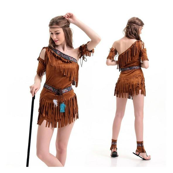 see larger image - Halloween Native American