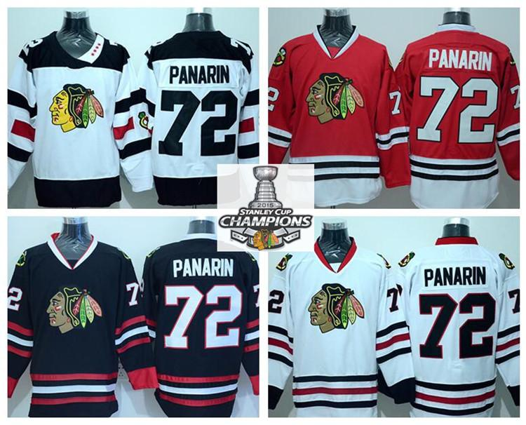 7bb48346bc0 2019 Winter Classic Ice Hockey 72 Artemi Panarin Jerseys Chicago Blackhawks  Team Color Red Third Alternate White Black 100% Embroider Logos From ...