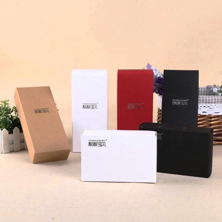 hot sales small present boxes kraft and cardboard packaging box accept costom logo2
