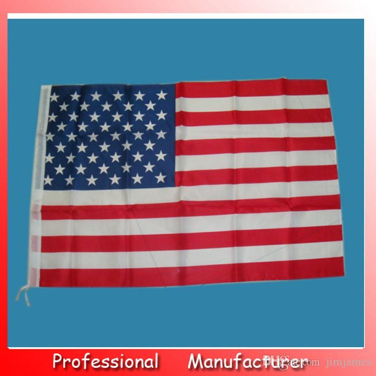 Jumbo 90*150 cm 3'x5' American Flag USA US FT Polyester Be Proud Show off Your Patriotism