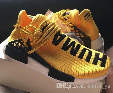 half off f37b4 ad124 New 2016 Nmd Boots Men Women 2 II Human Race Shoes Pharrell Williams X  Humanrace Sneakers Cheap Sale