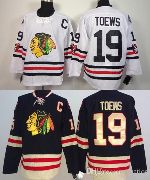 2019 New Arrival !!! 2016 Winter Classic Chicago Blackhawks Jersey  19  Jonathan Toews White Black Cheap Jerseys a8717c587