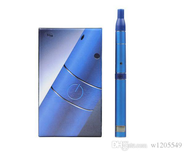 Best ago G5 dry herb vaporizer pen vapor cigarettes kits dry herb atomizer LCD Display Ago G5 pen E Cigarette wax herbal vaporizer DHL kits