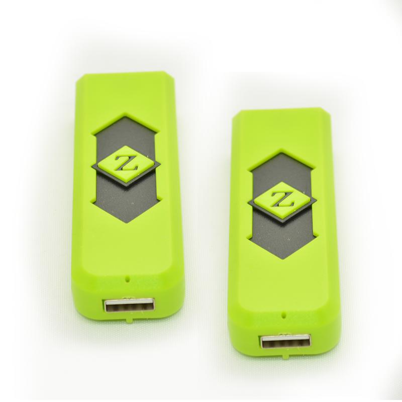 Nuevo USB caliente Batería recargable electrónica Cigarette click n vape fumando pipa de metal Cigarette Cigar Flameless UL01 con paquete de pantalla