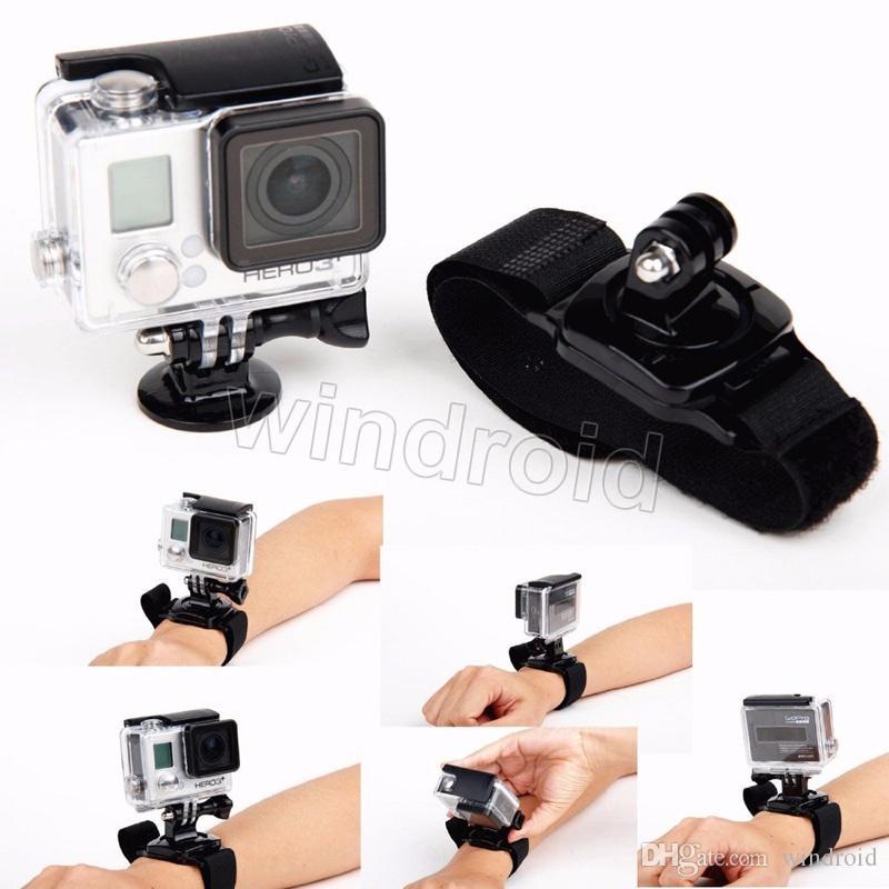 12 في 1 مجموعة ملحقات GoPro Go Go حمالة المعصم عن بعد 12 في 1 مجموعة أدوات السفر مع صندوق البيع بالتجزئة للكاميرا الرياضية EKEN Hero 4 3+ 3 2