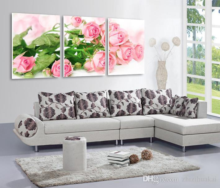 unframed Home decoration Canvas Prints Cartoon playful people London tree Forest path rose tea Abstract art painting