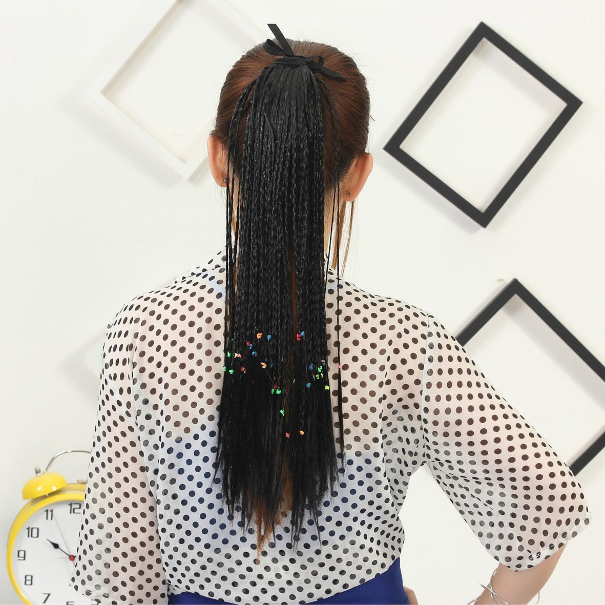Small plait ponytail bohemia hair extensions long hair products small plait ponytail bohemia hair extensions long hair products straight hair synthetic young 2016 new black brown blonde jf008 ponytails hairstyles pmusecretfo Gallery