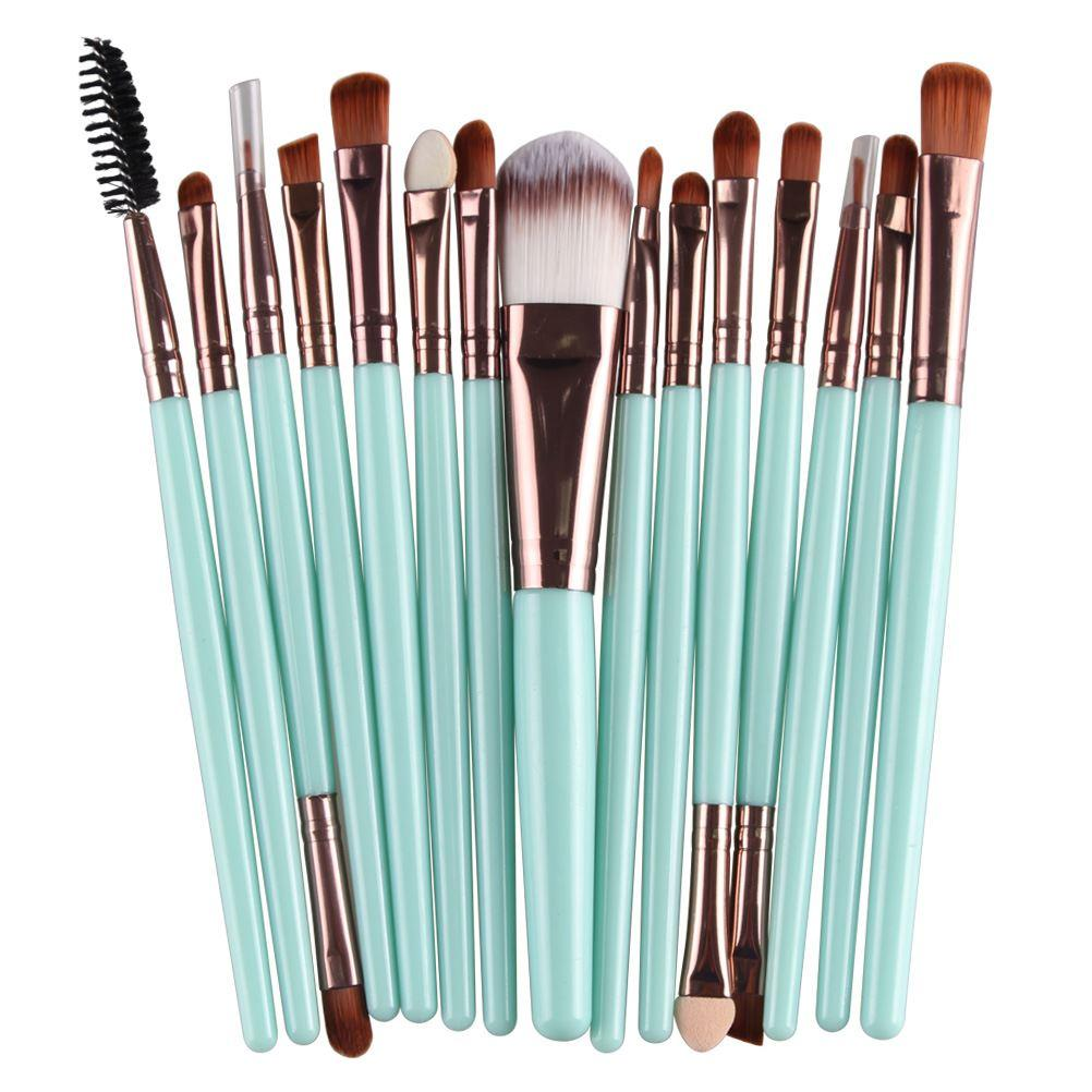 Bonne qualité professionnelle / ensembles fondation ombre à paupières sourcils pinceau à lèvres maquillage pinceaux outil Comestic