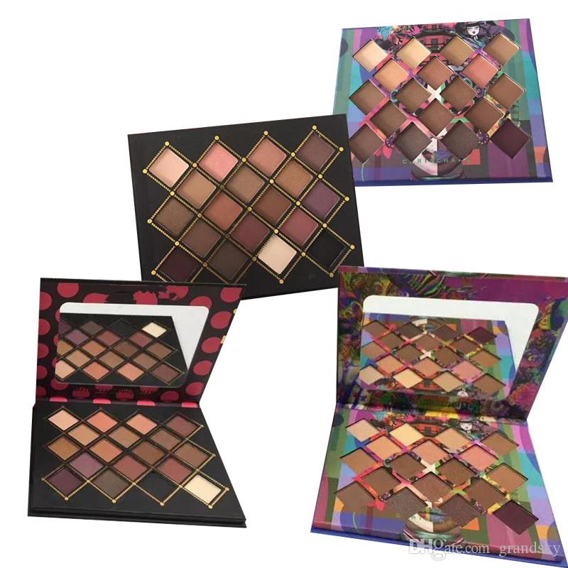 Wholesale Price High Quality makeup Chris Chang eyeshadow palette 2types top qaulity DHL shipping