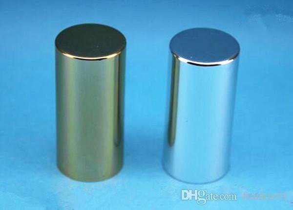 tapa de aluminio dorada plateada para botella de bola de rodillo 1 ml 2 ml 5 ml 10 ml 15 ml botellas de perfume de aceites esenciales