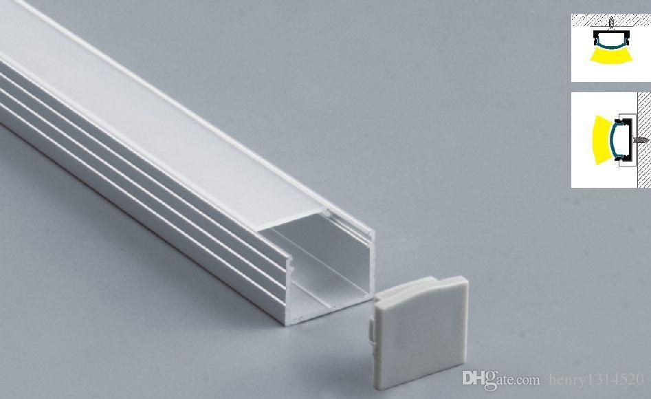 2019 2000mmx18mmx13mm 2m Pcs 6063 Aluminium Profile For Led Strip