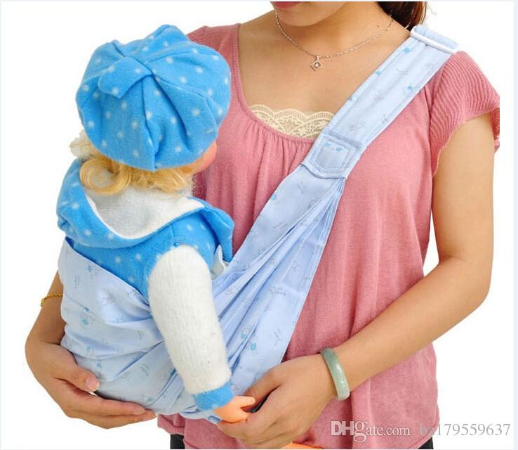 2018 Baby Carriers Cotton Infant Backpack Carriers Baby Wrap Sling