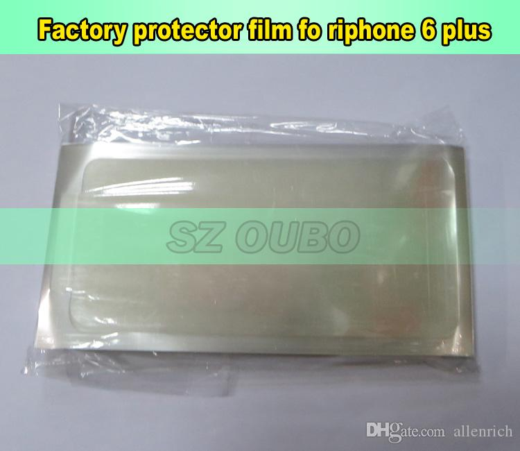 Front screen protector refurbishment film for iphone 6 plus , LCD front screen protector film for repair lcd DHL