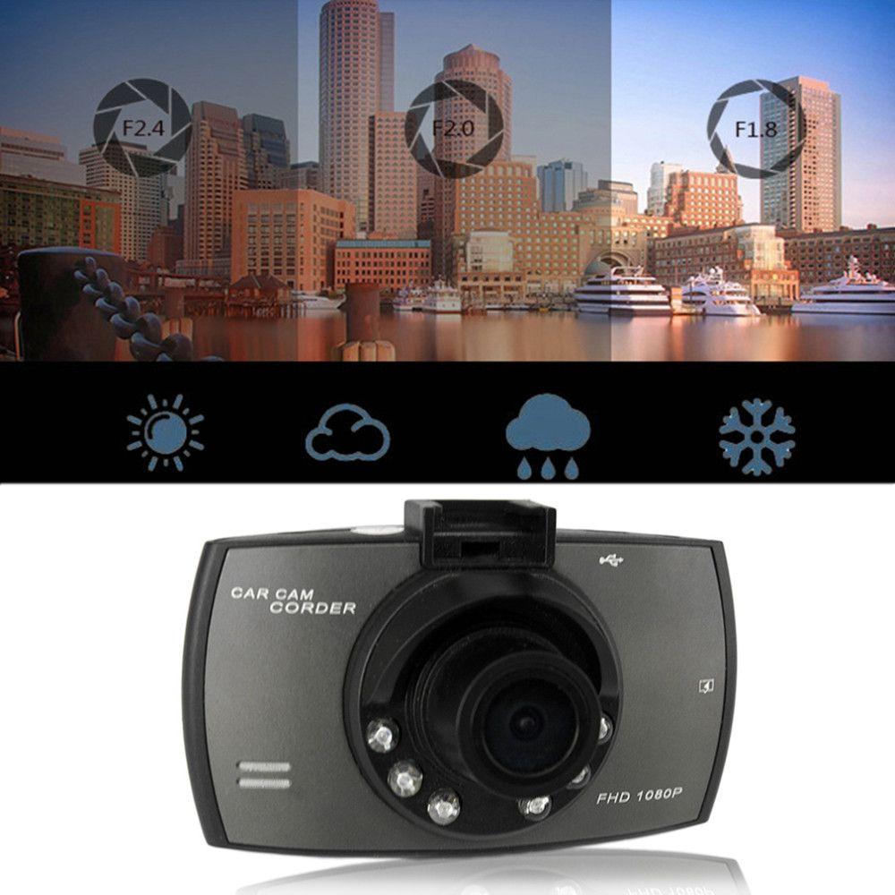 "WithRetailBOX Car Camera G30 2.4"" Full HD 1080P Car DVR Video Recorder Dash Cam 120 Degree Wide Angle Motion Detection Night Vision G-Sensor"