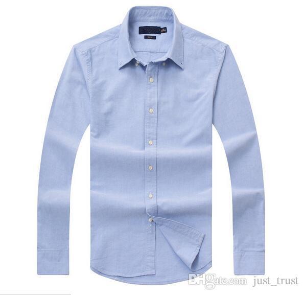 Nuove vendite costumi famosi fit Camicie casual Popolari campi da golf ricamati Polo da uomo Abbigliamento manica lunga