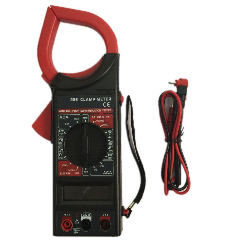 Digital Clamp Meter Dt 266 : Online cheap ac dc digital clamp multimeter dt