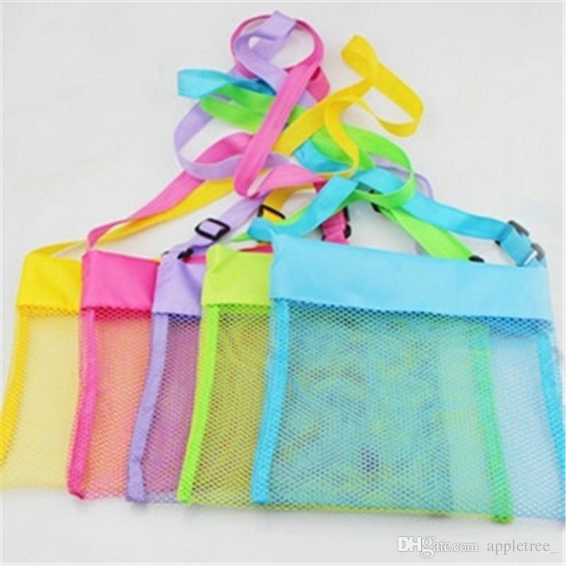Sand Toys Bag Toy Storage Organizer Bags Kids Mesh Beach Bag Baby Shell Pouch Children Sandboxes 2016 Boys Girls Gift wholesale hot