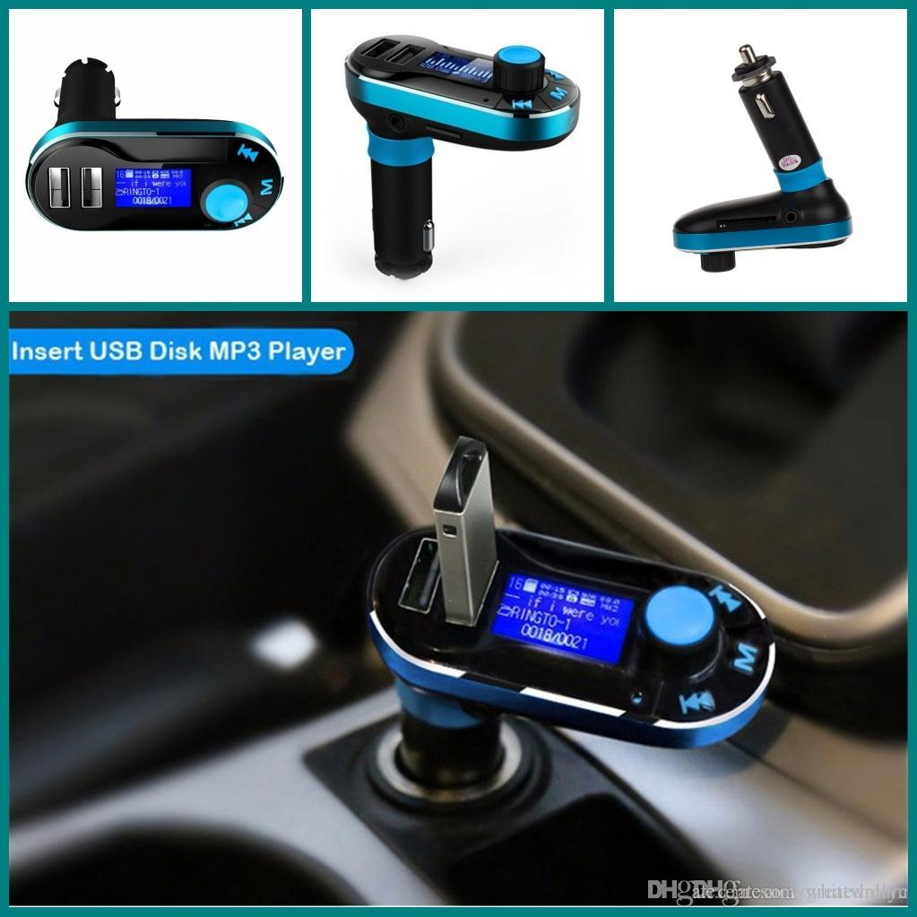 T66 Car Mp3 Player With Lcd Screen Dual 2 Usb Charger Tf Card Fm Transmitter Circuit Electronic Solt Remote Control Auto Audio