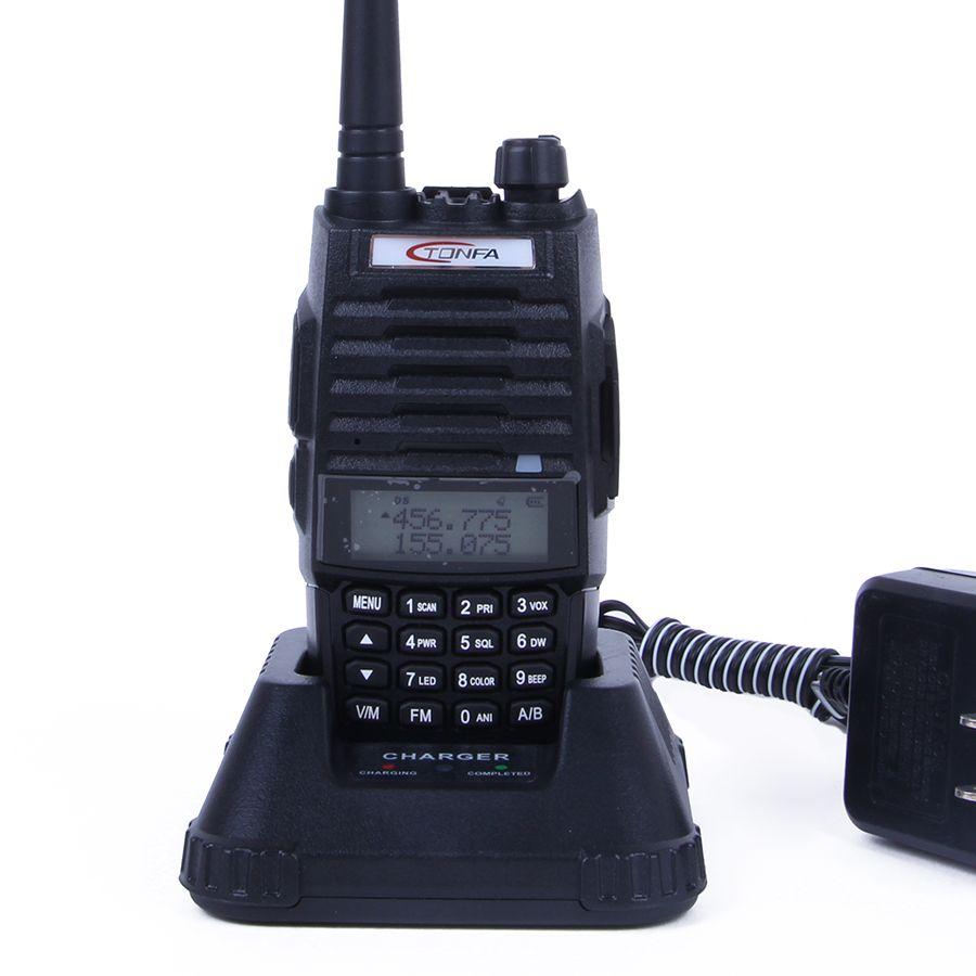 Tonfa Tf Q5 Walkie Talkie Dual Band Vhf Uhf 256 Memory Channel 10w Cb Radio Receiver Circuit Design Large View Fm Flashlight Vox Scan 2 Way Tfq5 4 Pack Apps