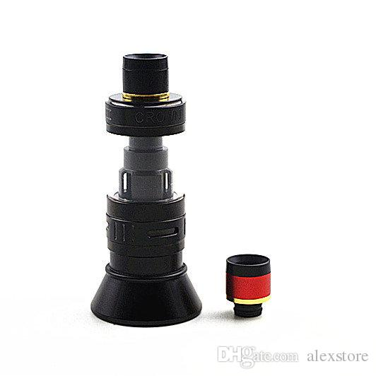 Uwell Crown 3 Drip Tip 510 Style Aluminum Resin Drip Tips Fit for Uwell Crown III Tank Atomizer Mouthpiece Coil Vape