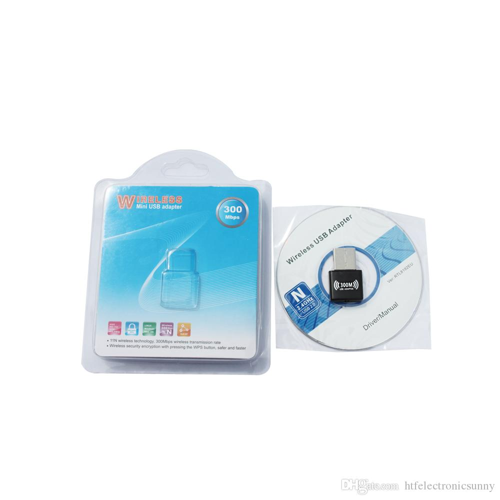 high speed New 2016 Mini Wireless 11N 300M USB LAN Card with internal antenna WiFi Adapter Nano Card Win7 8