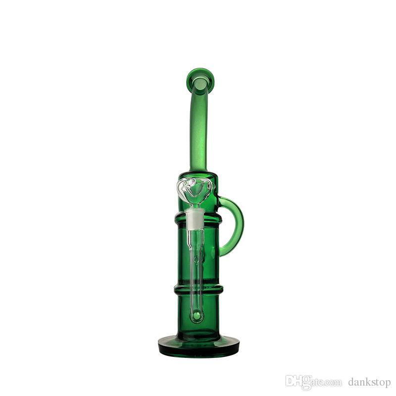 Kaliteli toptan fiyat cam bong cam su borusu petek 18mm erkek eklem ile günlük kullanım için