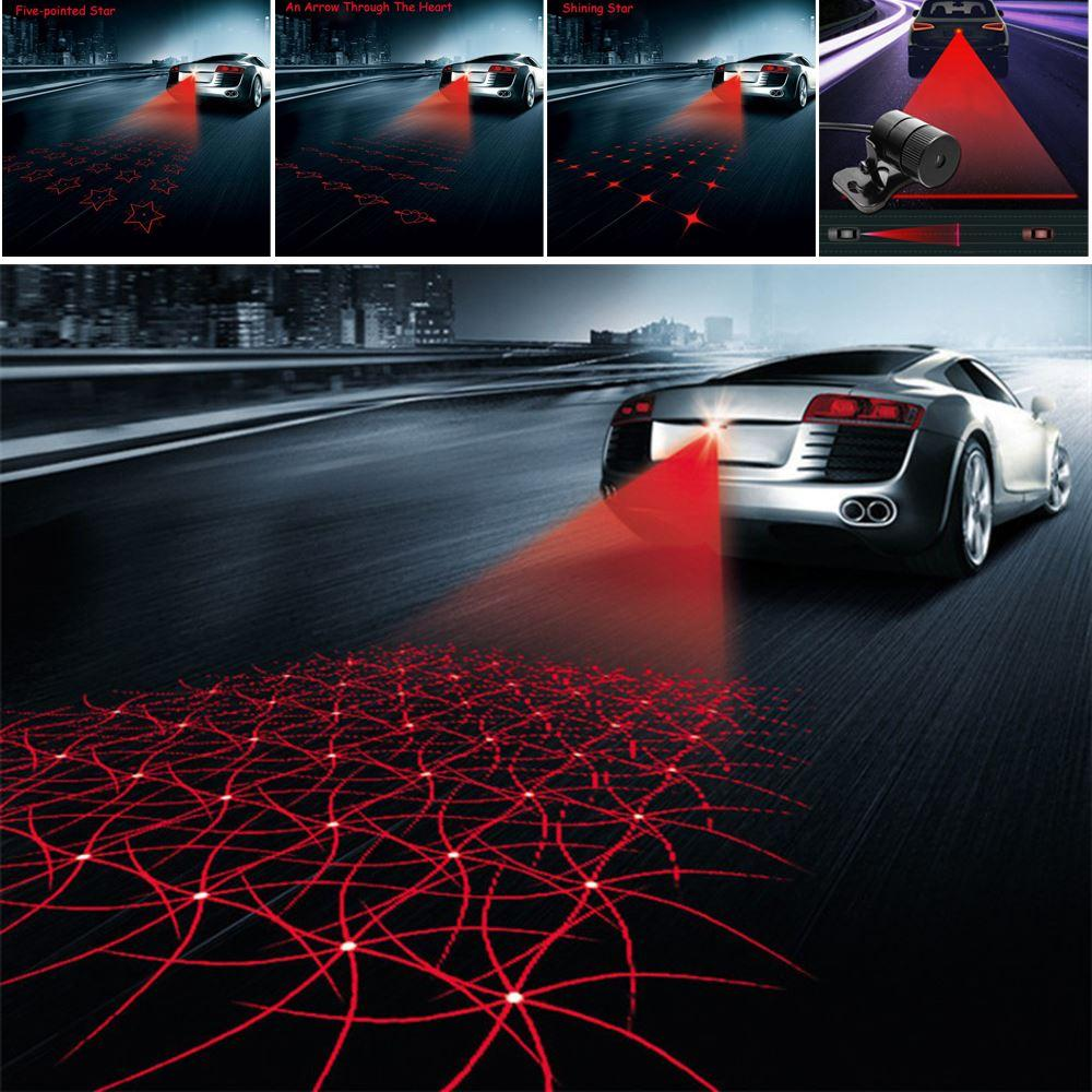 Anti Collision Rear End Car Laser Tail 12v Led Car Fog Light Auto