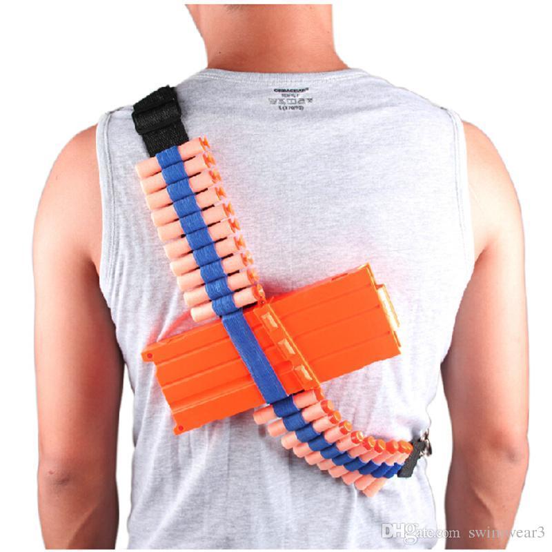 Kids Toys Target Pouch Gun Bullets Storage Case Holder Bag Organizer For Nerf  Guns Darts N