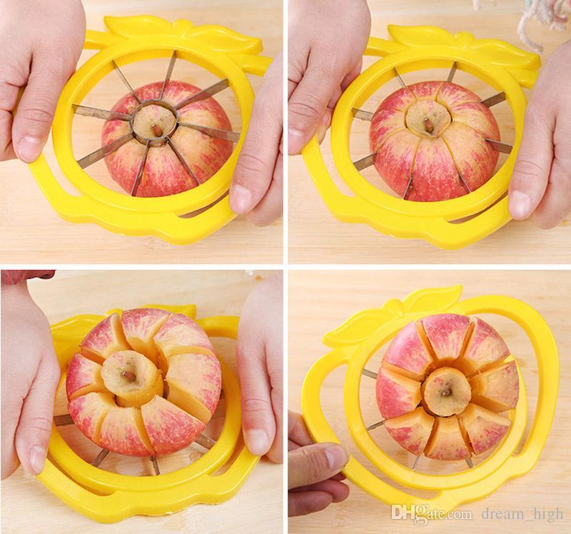 Cortador De frutas Faca De Maçã Slicer De Corte Corer Cozinha Cozinhar Ferramentas De Legumes Chopper Utensílios De Cozinha e Acessórios