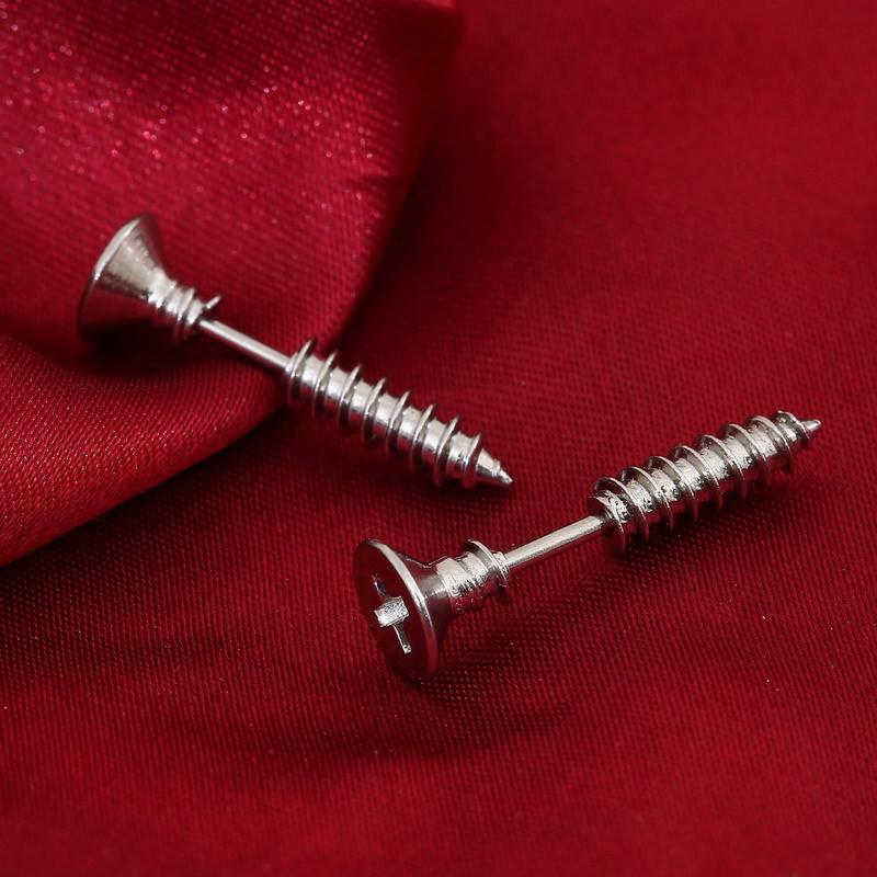 New Arrival Womens Ear Stud Earrings Jewelry piercing Jewellry Beads Mini Stud Earrings Screws Ear Studs Earrings For Women Earring Free DHL