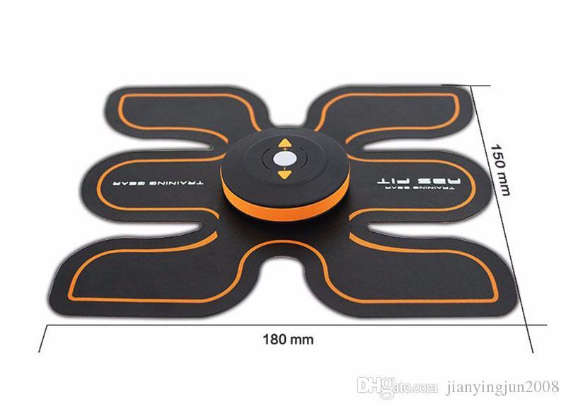 새로운 충전식 전기 근육 자극기 EMS 바디 슬리밍 미용 기계 근육 운동기 전기 토닝 마사지