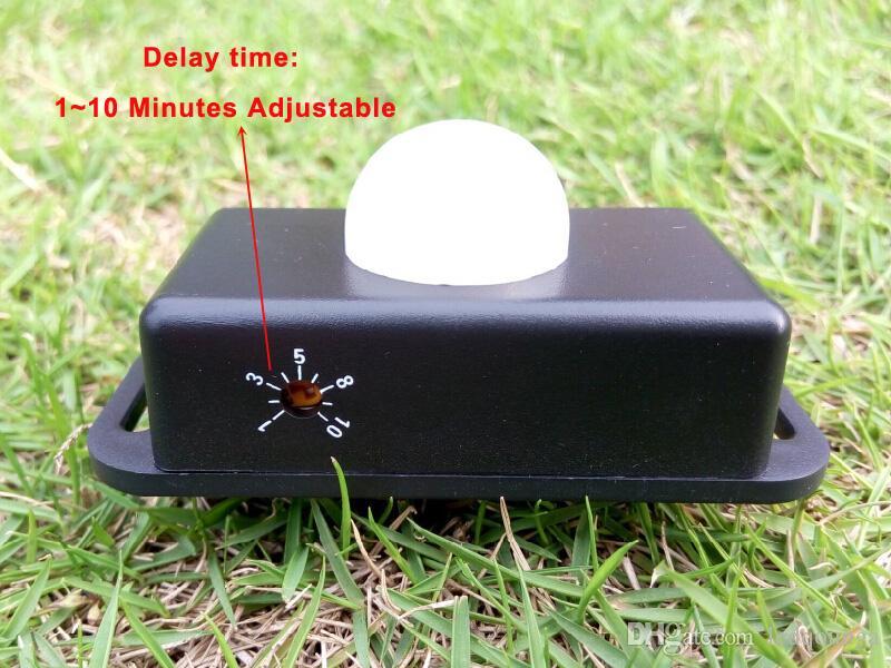 Mini Menschlicher Körper Infrarot-Bewegungs-Sensor-Schalter für LED-Streifen 6A 12V 24V Arbeit mit SMD 3528 5050 LED-Lichter Reel CE ROSH / DHL
