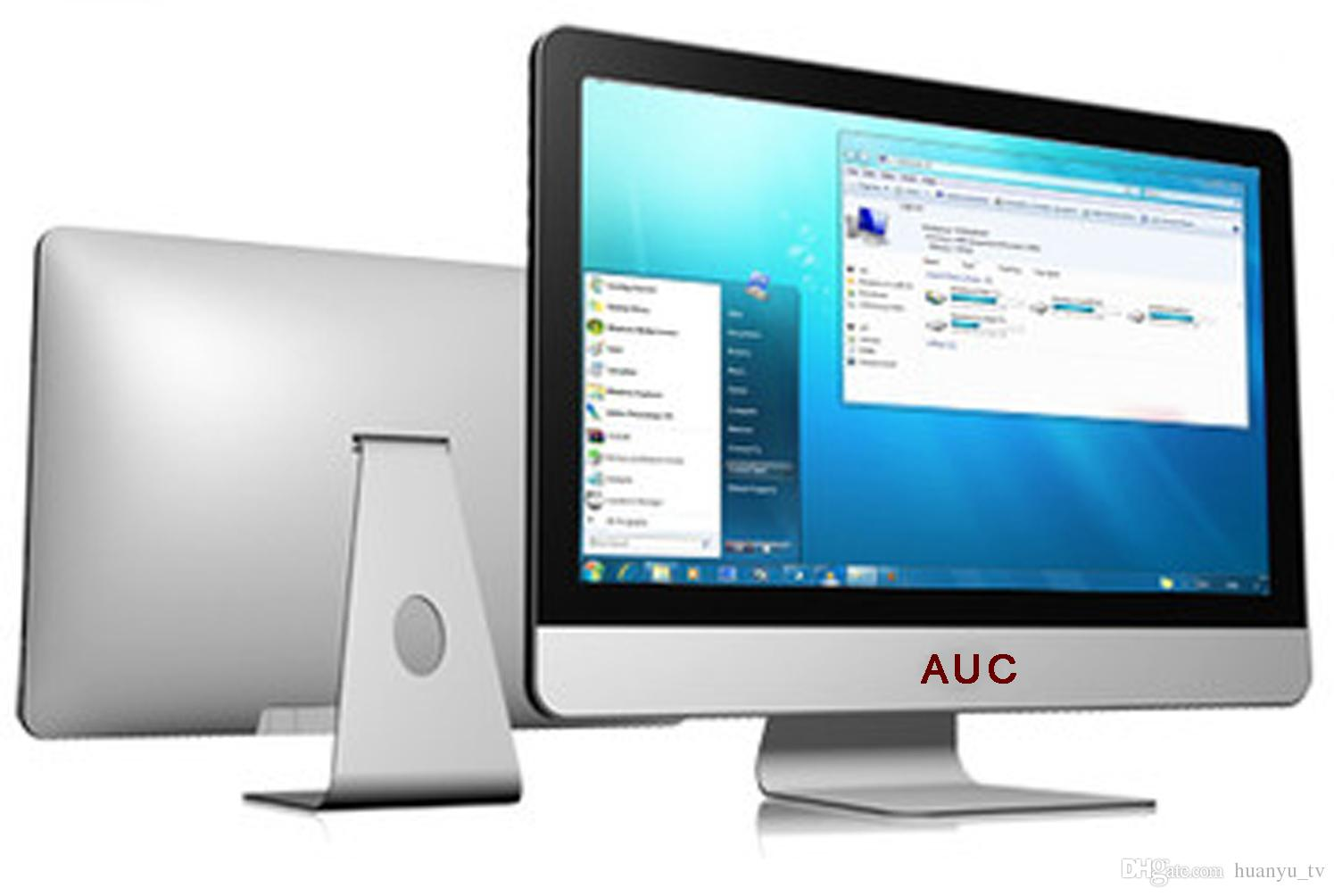 "23.6"" i5 Computer Monitors LED All-in-one PC Widescreen Fashionable Ultra-thin Built-in WIFI HD"