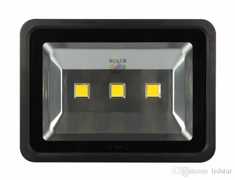 3-летняя гарантия светодиодный прожектор 200 Вт 300 Вт 400 Вт 500 Вт 600 Вт RGB / теплый / холодный проект Whit прожекторы водонепроницаемый наружное освещение лампы 85-265 в