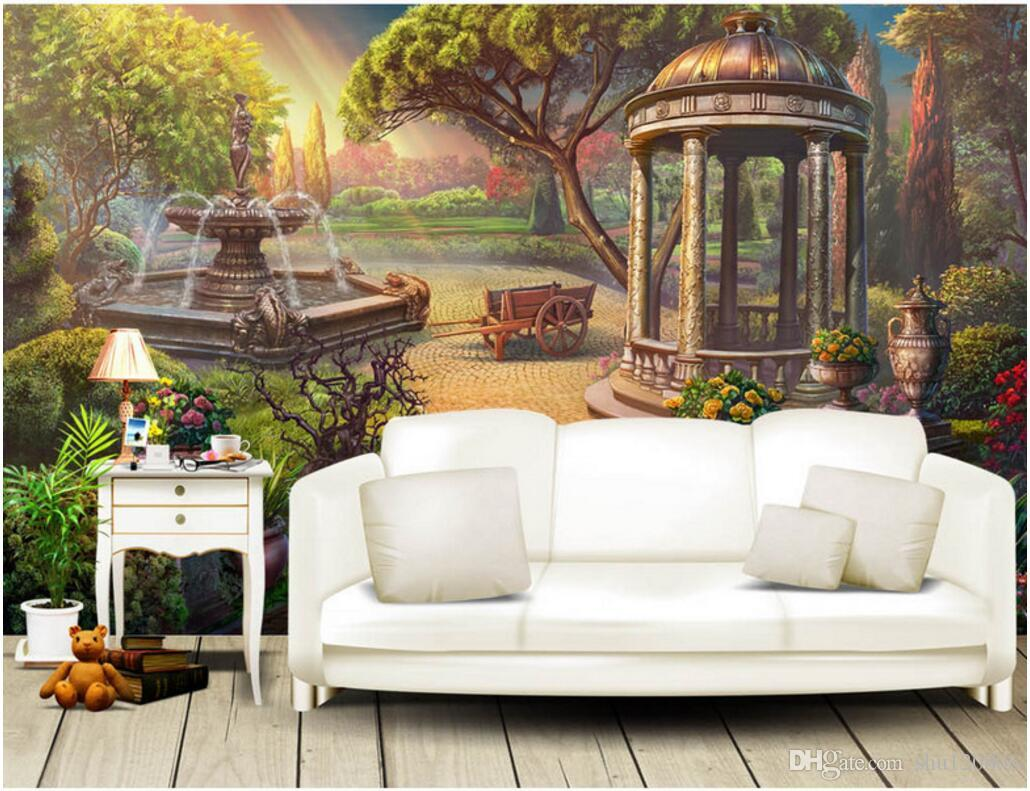 3d room wallpaper custom photo mural european garden fountain tv 3d room wallpaper custom photo mural european garden fountain tv background wall painting picture 3d wall murals wallpaper for walls 3 d wallpapers for the amipublicfo Choice Image