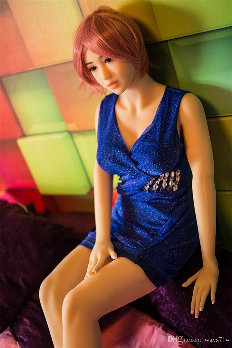 Flesh Silicone Lifelike Full Size Plump Sex Dolls Realistic Big Hips Love Doll Adult Sex Toys For Man Masturbation With Large Breast
