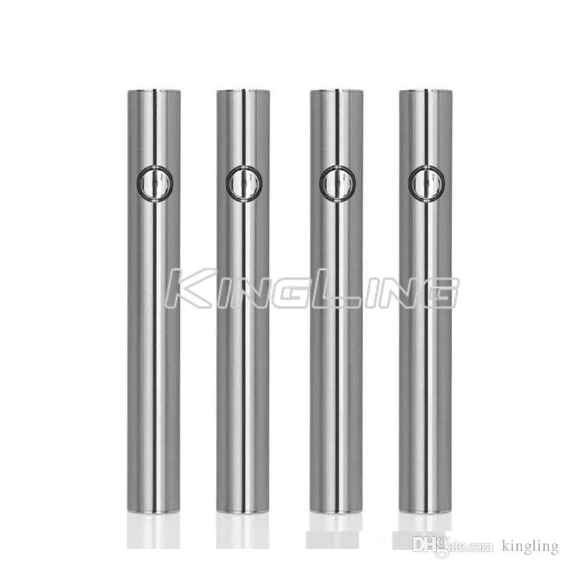 Préchauffage eSmart 350mAh Préchauffage Batterie Charge inférieure Tension variable Tension réglable Huile de vaporisateur de CO2 Stylo 510 Cartouches de fil